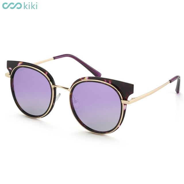 KIKI - Women Polarized Retro Cat Eye Driving Sunglasses
