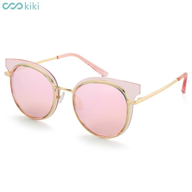 KIKI - Women Polarized Retro Cat Eye Driving Sunglasses - Shade & watches