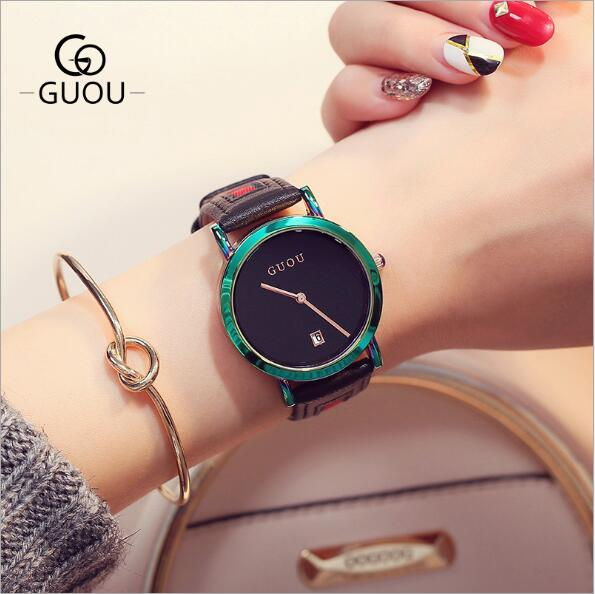 New Fashion Colorful Stainless Steel Women Watches