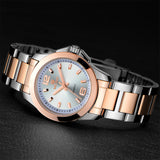 Women Watches Fashion Gold Stainless Steel
