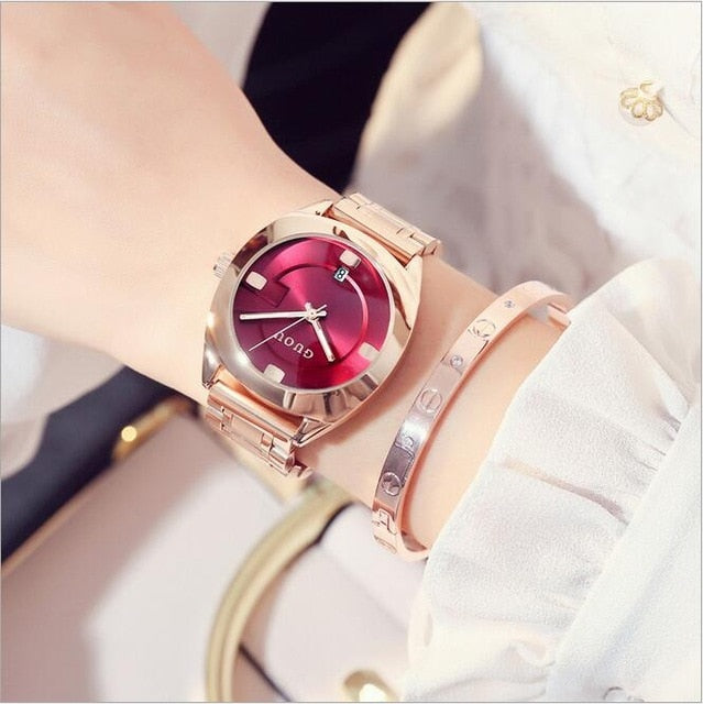 New Style Bracelet Auto Date Women Watches