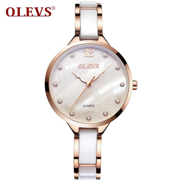 Luxury Quartz Roman Surface Dial Women Watches - Shade & watches