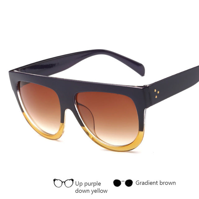 Brand Designer Full Frame Women Sunglasses - Unisex - Shade & watches