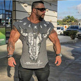 Casual gyms Fitness T-shirts - Shade & watches
