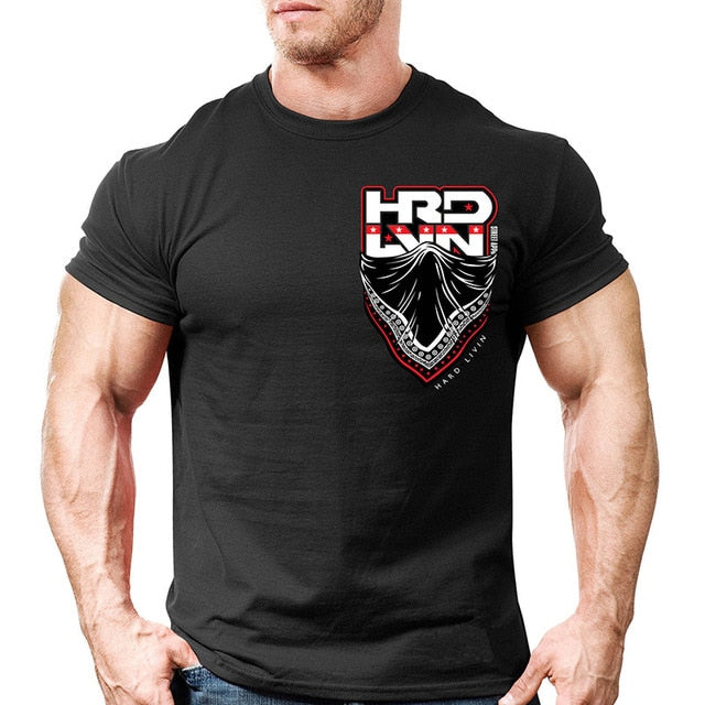 Men's Crossfit Bodybuilding T-shirts - Shade & watches