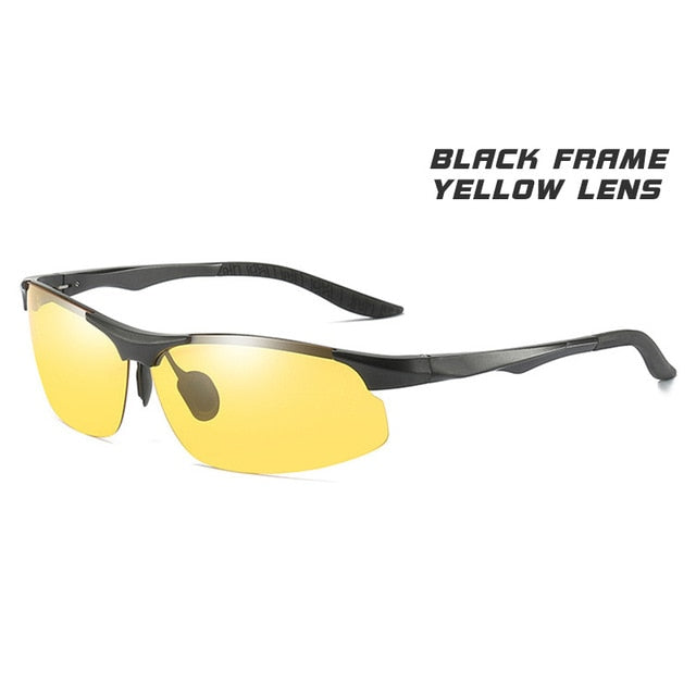 Day Night Photochromic Polarized  Men's Sunglasses