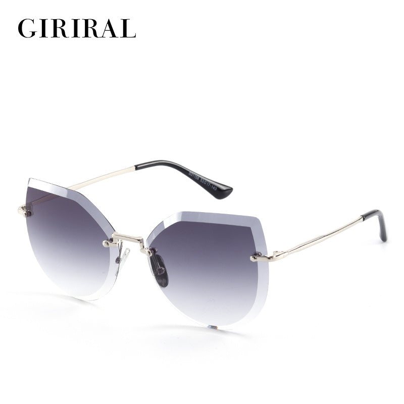 2019- Candy fashion vintage retro sunglasses for Women