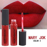 Lipstick Easy To Wear Red Lip Gloss Cosmetic