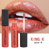 Lipstick Easy To Wear Red Lip Gloss Cosmetic - Shade & watches