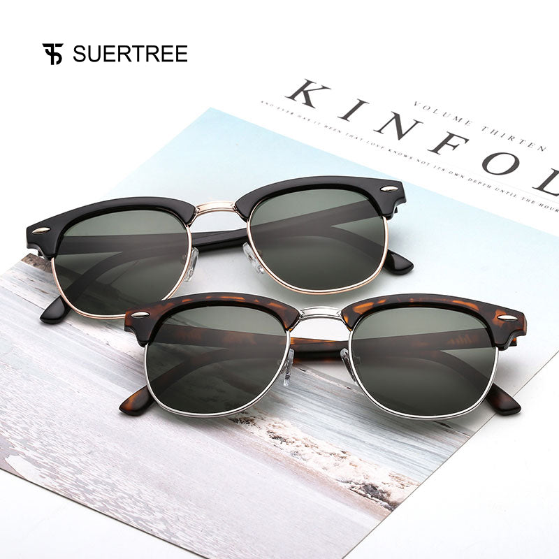 New Vintage Polarized Retro Sunglasses for Women & Men's - Shade & watches
