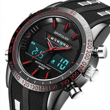 Luxury Men's Sports Military LED Clock Watches - Shade & watches