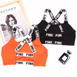 Women Yoga Top Cross Strap Vest - Shade & watches