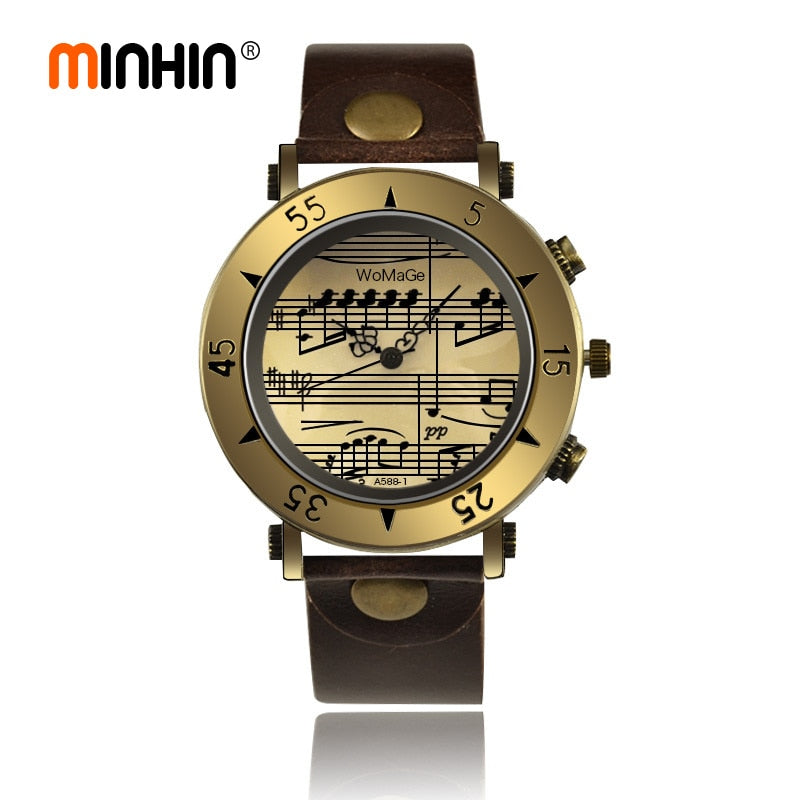 Leather Vintage Watches for Men's & Women