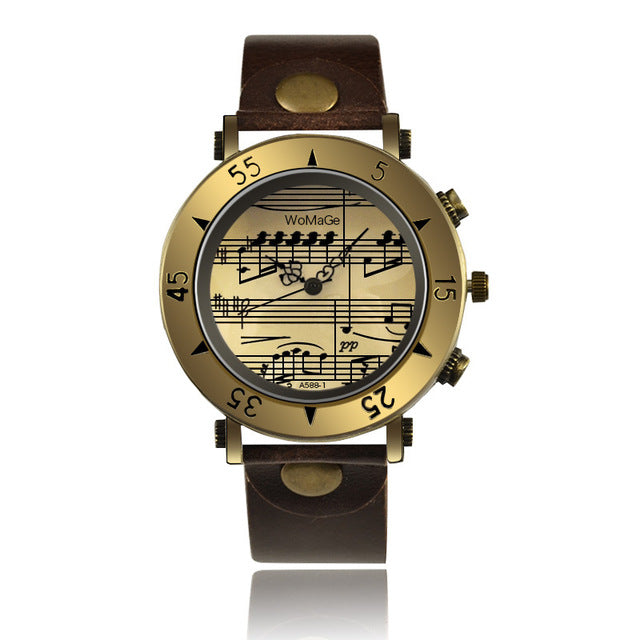 Leather Vintage Watches for Men's & Women - Shade & watches