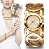 Luxury Crystal Gold Watches for Women