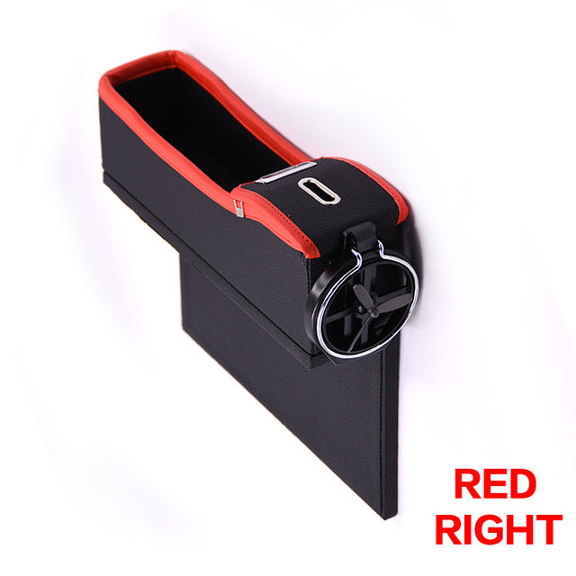 Car Seat Crevice Storage Box Cup Drink Holder