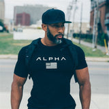 Men's Fitness tight T-shirts - Shade & watches