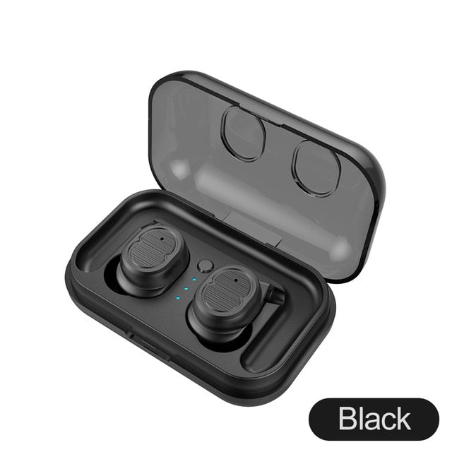 Touch Control Mini Wireless Stereo Earbuds Waterproof - Shade & watches