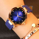 Crystal Luxury Dress Quartz Wristwatches for women
