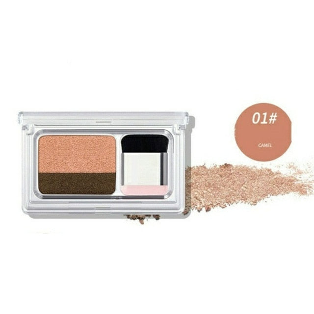 EyeShadow Double Color Shimmer Waterproof - Shade & watches