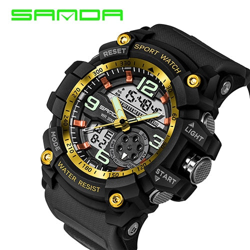 Top Sell-Sports Men's Waterproof Watches - Shade & watches