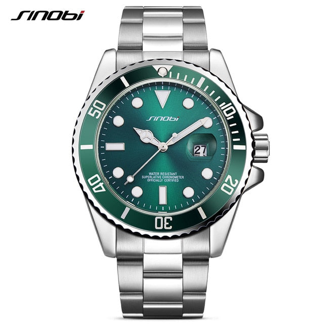 Top Brand Luxury Military Sport Quartz Watches for Men's