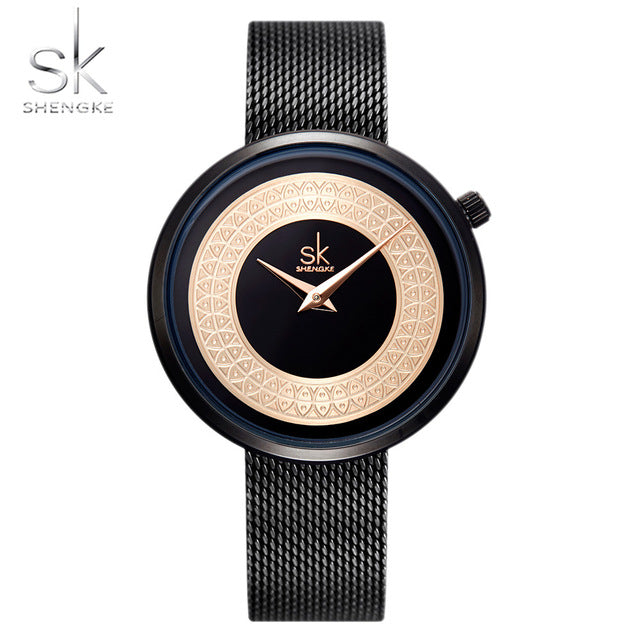 Top Sell-Female Clock Vintage Design Watches - Shade & watches