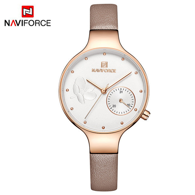 Top Sell-Women NAVIFORCE Fashion Quartz Watches - Shade & watches