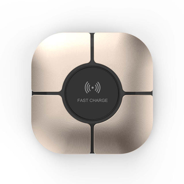 Ultra-thin Portable QI Wireless Charger Pad for iPhone