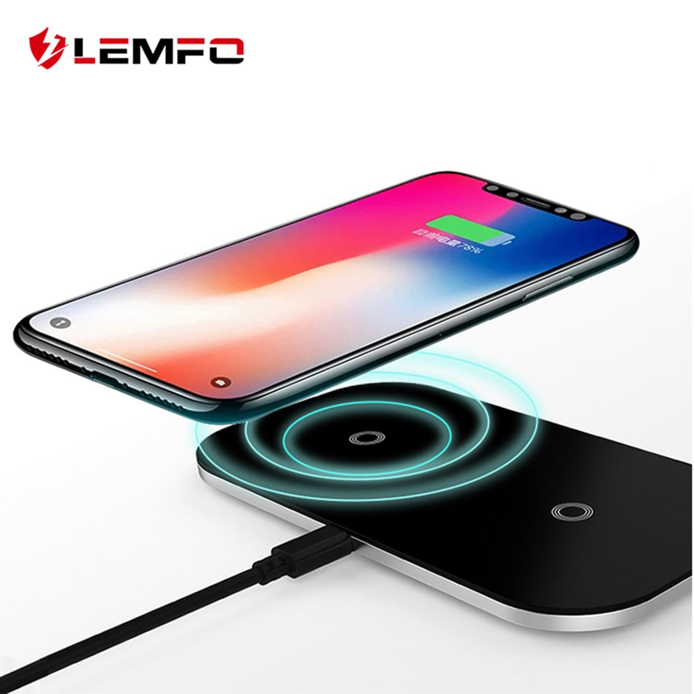 Dual Wireless Charger 5W & 10W Fast Charging Pad