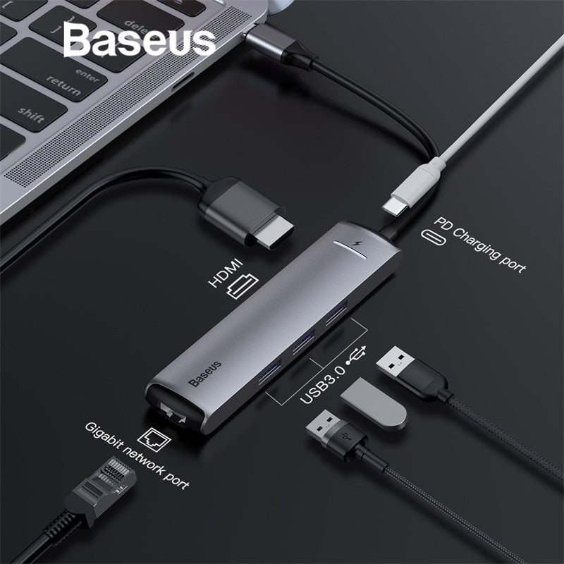 MacBook Pro HUB USB Splitter for Huawei Matebook Accessory - Shade & watches