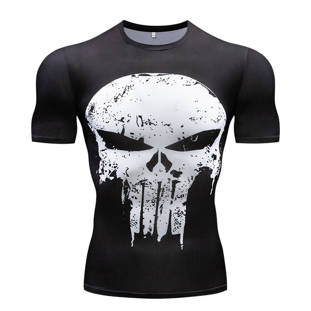 Short Sleeve Men's Crossfit T-shirts - Shade & watches