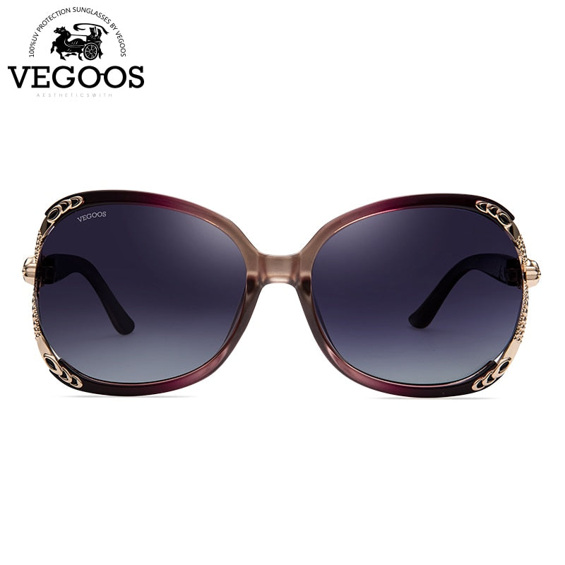 Women Oversize Sunglasses Polarized Brand Designer - Shade & watches