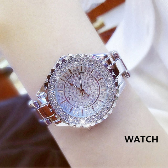 Top Sell- Luxury Women Rose Gold Quartz Watches