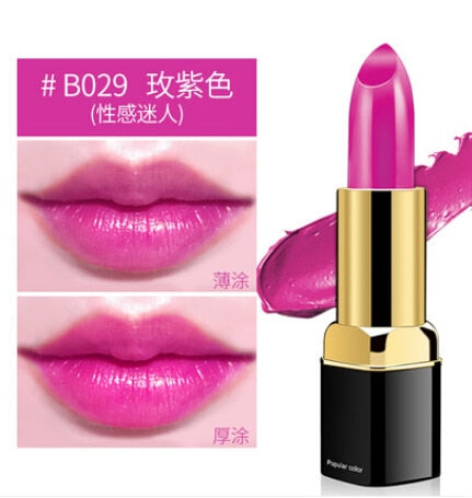 Waterproof Lipstick Long Lasting Nude Makeup