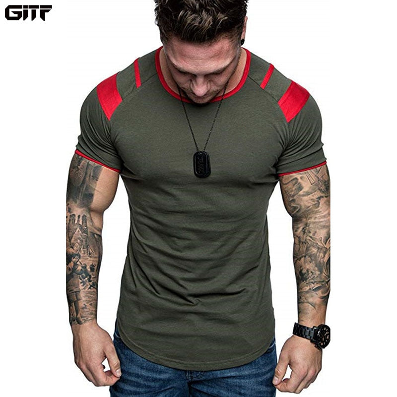 Men's Running/Fitness Breathable T-Shirt - Shade & watches
