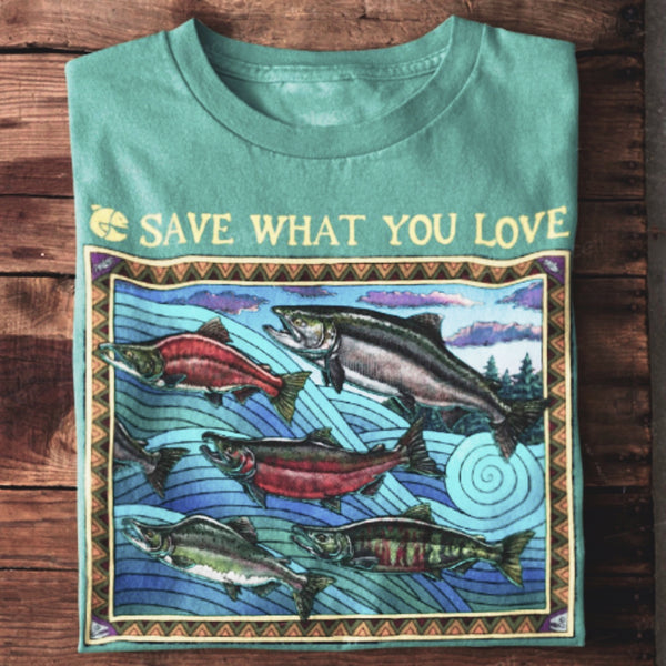 Ray Troll x Eva's Wild - Save What You Love Shirt