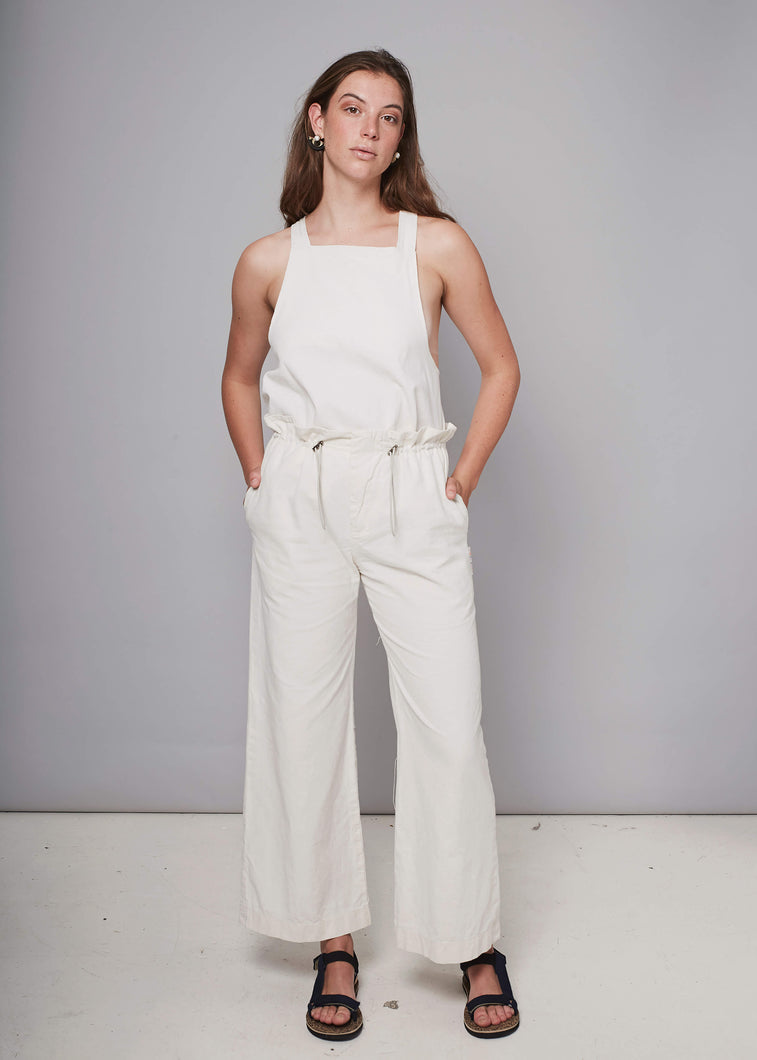 Pull-on Pants - Cream