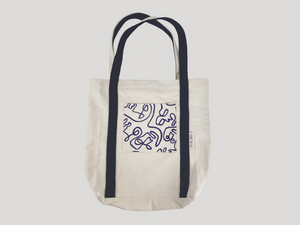 'Forget-me-not' ~ Tote / Patterned