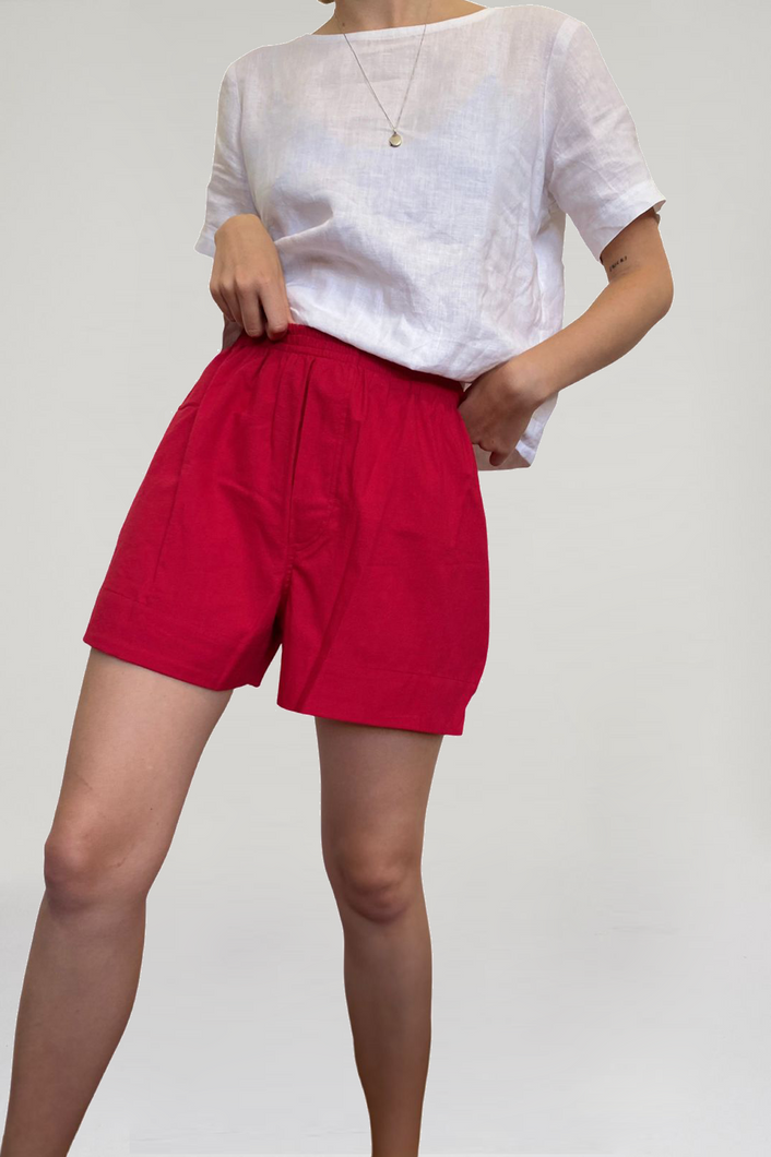 Sophia Shorts ~ Red