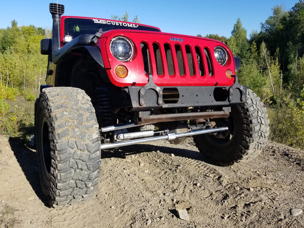 Jeep JK HD RAISED Front Track Bar Bracket