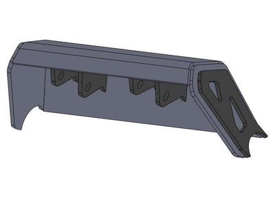 Chassis Side Dual Shock Brackets