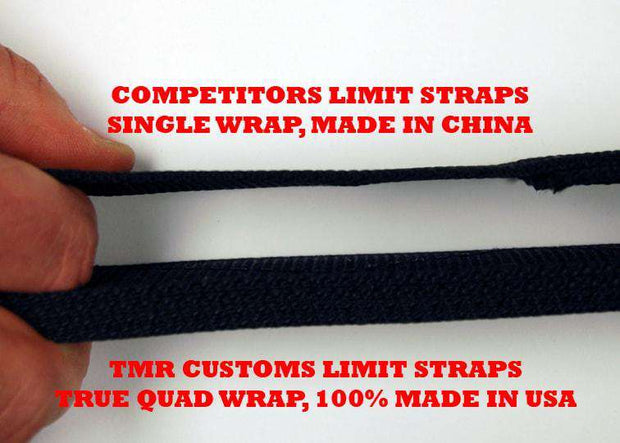 TMR Customs Premium Quad Wrap Limit Strap