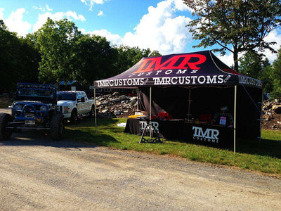 TMR Customs 10' x 20' Trade Show Tent