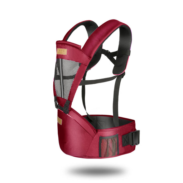 Newborn Infant Baby Carrier Solid Breathable Ergonomic Adjustable Wrap Sling Chest Kangaroo Backpack
