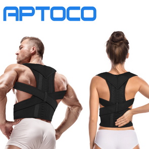 Posture Corrector Back Support Brace Pain Relief for Men & Women Size