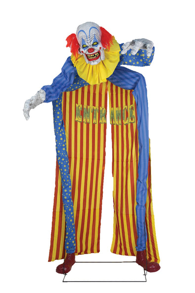 Looming Clown Animated Prop