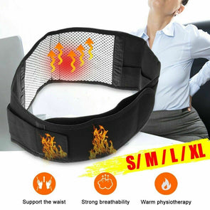Cathery Posture Corrector Support Magnetic Lumbar Back Shoulder Brace Belt For Men Women
