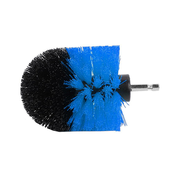 HERCHR Drill Brush, 3PCS Power Scrubber Brush Electric Drill Cleaning Kit for Bathroom Surfaces, Scrubber Brush
