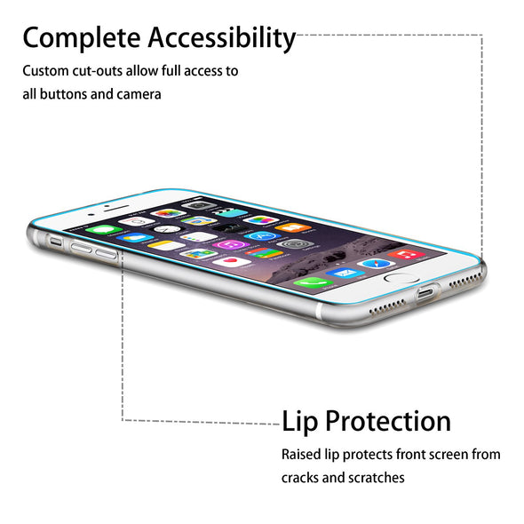 Insten iPhone 8 Plus / iPhone 7 Plus Clear Case Transparent Premium Ultra Slim Lightwight Soft TPU Rubber Candy Skin Anti Slip Case Cover for iPhone 8 Plus / iPhone 7 Plus, Clear